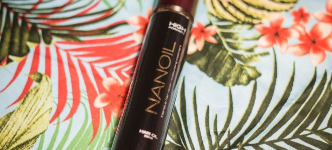 best hair oil - nanoil high porosity